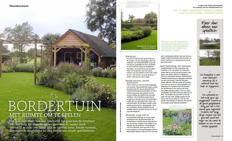 Artikel in Home and Garden juli 2011