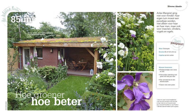 Artikel in Home and Garden mei 2014