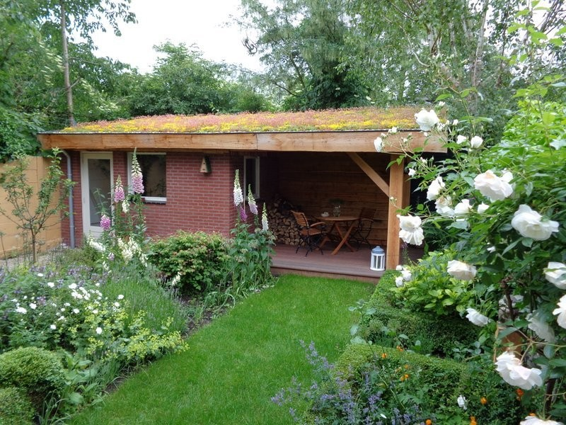 Tuinontwerp groningen friesland en drenthe natuurlijke for Tuinontwerp natuurlijke tuin