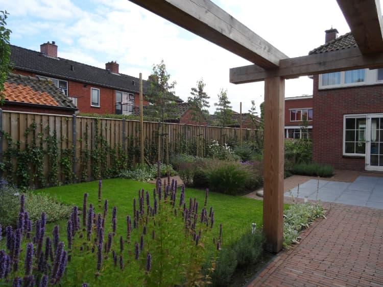 Strakke tuin Groningen